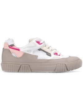 Both colour block sneakers - White