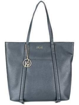 Armani Jeans piped detail shoulder bag - Blue