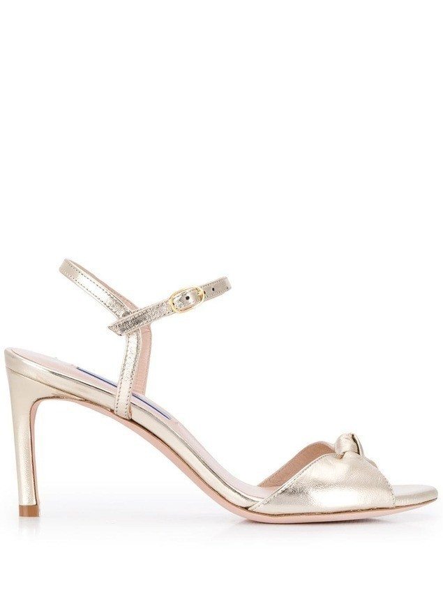 Stuart Weitzman Gloria sandals - GOLD