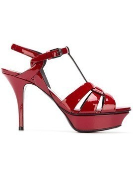 Saint Laurent Tribute 105 sandals - Red