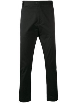 Low Brand slim-fit trousers - Black
