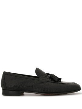 Magnanni tassel loafer - Black