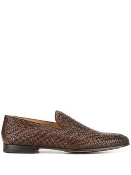Magnanni woven loafers - Brown