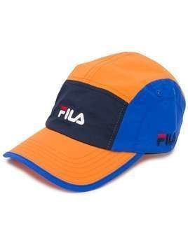 Fila embroidered logo cap - ORANGE