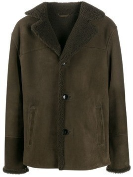 Desa 1972 textured internal lined jacket - Green