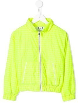 Duo Duo stripe jogging jacket - Yellow