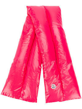 Moncler padded scarf - Pink & Purple