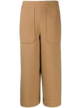 Essentiel Antwerp Tia wide leg culottes - Brown