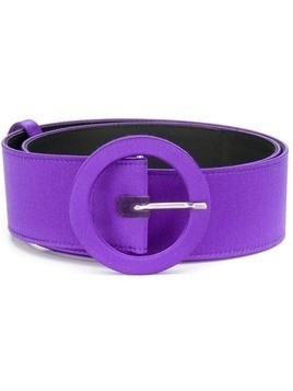 Attico rounded buckle belt - PURPLE