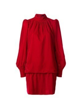 Marc Jacobs high neck dress - Red