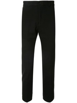 Loveless cropped chino trousers - Black