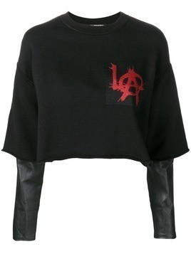 Adaptation cropped jumper - Black