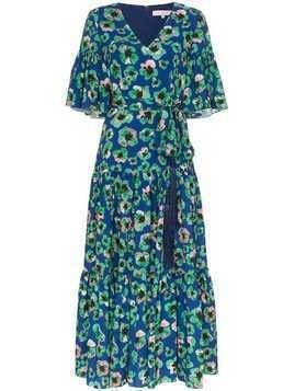 Borgo De Nor Teodora floral-print maxi dress - Blue