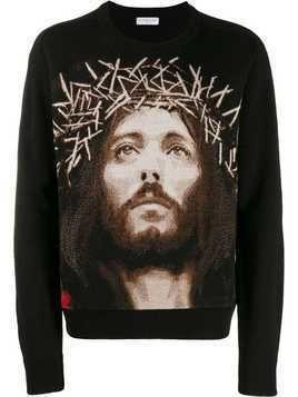 Ih Nom Uh Nit Jesus sweater - Black
