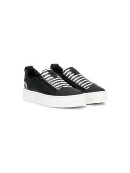 Bruno Bordese Next Generation zipped sneakers - Black