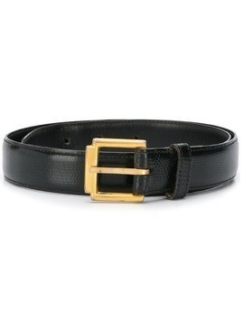 Yves Saint Laurent Pre-Owned 1970's classic belt - Black
