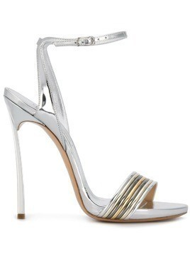Casadei Blade Multimetal sandals - Metallic