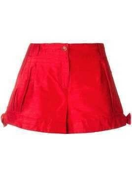 Giorgio Armani Pre-Owned side ties shorts - Red