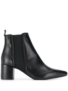 Anna Baiguera slip-on ankle boots - Black