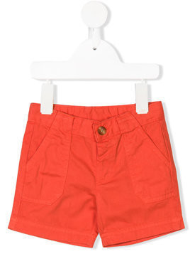 Knot chino shorts - Yellow & Orange
