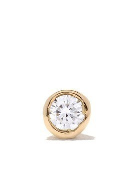 Wouters & Hendrix Gold 18kt gold diamond stud single earring - Yellow Gold