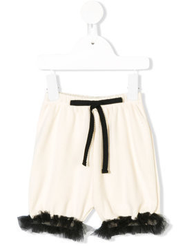Little Creative Factory Kids embellished shorts - Nude & Neutrals