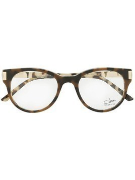 Cazal round glasses - Brown