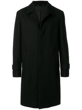 Hevo concealed button coat - Black