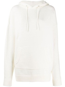 6397 oversized hoody - White