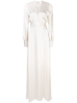 Kamperett Adelaide wrap dress - White