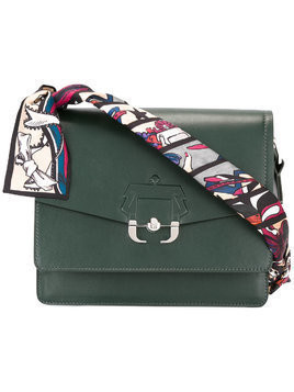 Paula Cademartori Twiggy shoulder bag - Green
