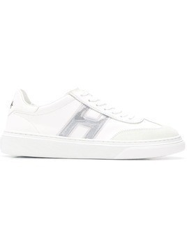 Hogan lace-up sneakers - White