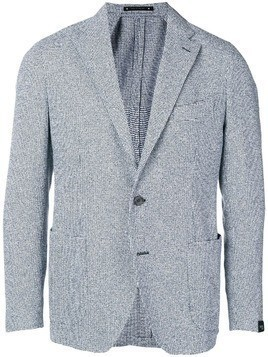 Bagnoli Sartoria Napoli single-breasted blazer - Blue