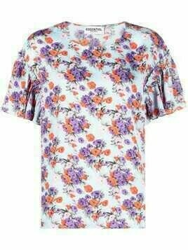 Essentiel Antwerp floral print top - Blue
