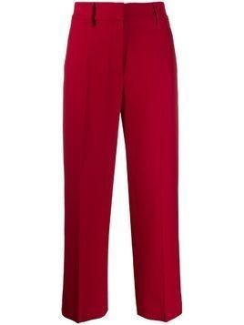Khaite Catherine suit trousers - Red
