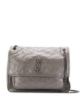 Saint Laurent large Nikki bag - Grey