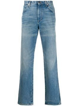 Gucci medium wash straight jeans - Blue