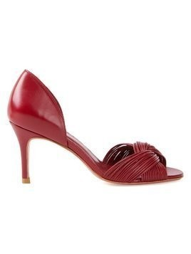 Sarah Chofakian open-toe pumps - Red