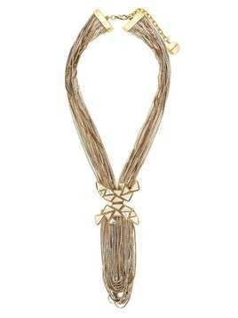 Camila Klein multiple chains necklace - Gold