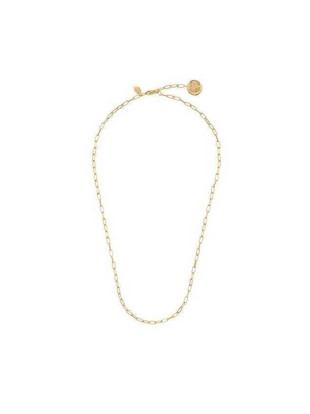 Northskull choker necklace - Gold