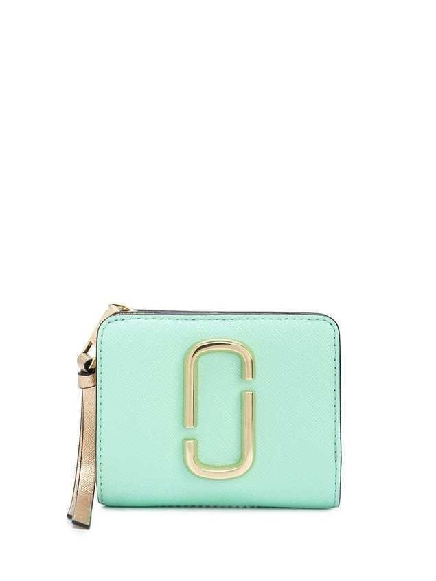 Marc Jacobs The Snapshot Compact wallet - Green