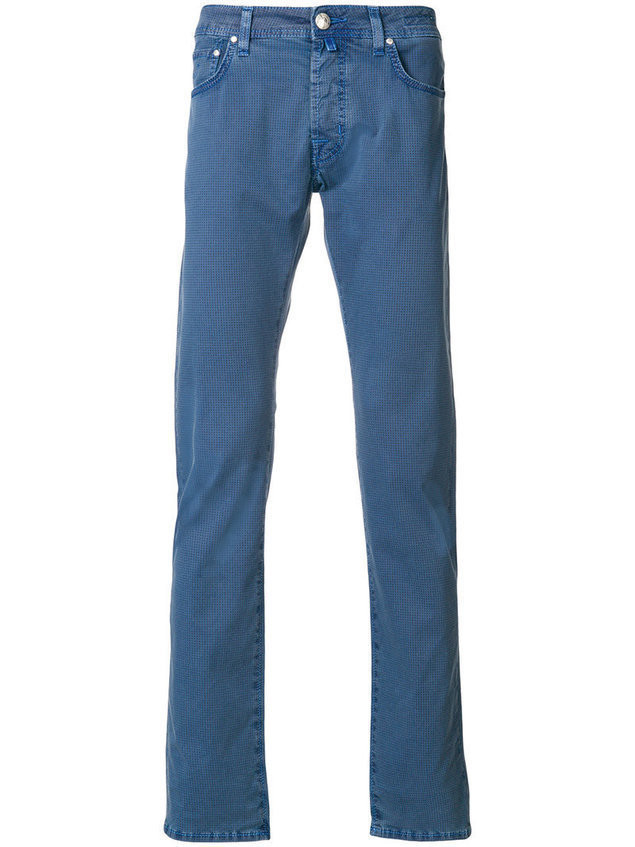 Jacob Cohen - slim-fit jeans - Herren - Cotton/Polyester/Spandex/Elastane - 42 - Blue
