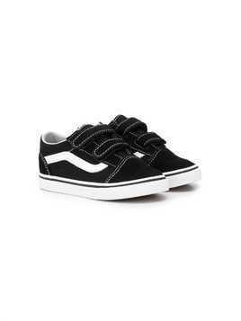 Vans Kids flat touch-strap sneakers - Black