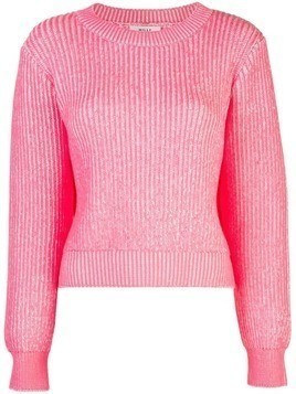 Milly ribbed knit jumper - Pink