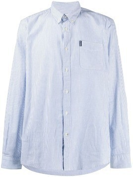 Barbour striped button-down shirt - Blue