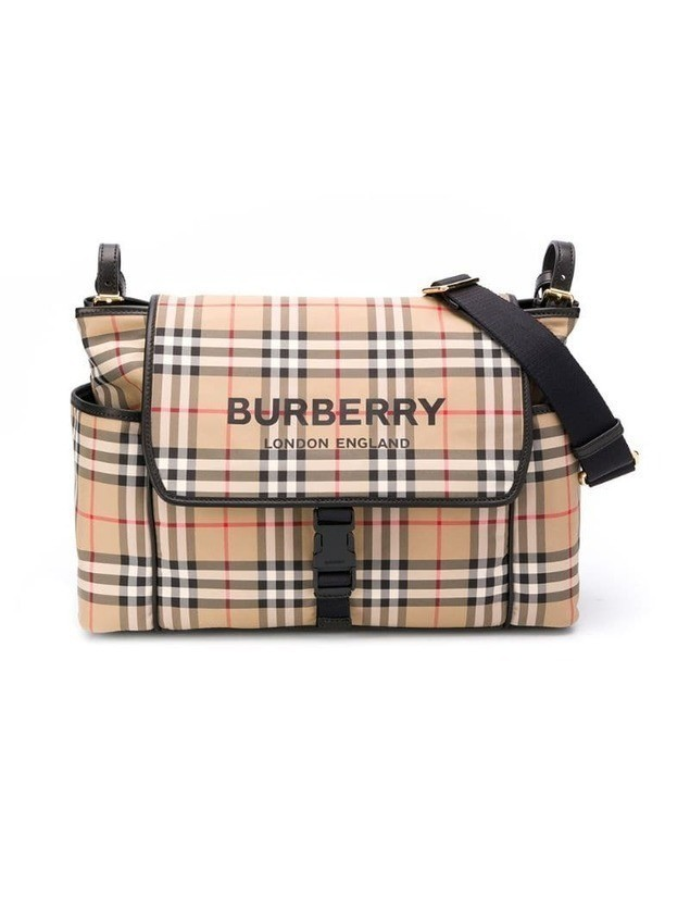 Burberry Kids Vintage Check changing bag - Neutrals