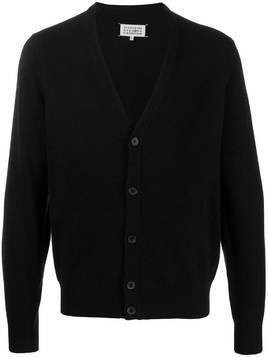 Maison Margiela knitted cardigan - Black