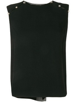 Dice Kayek embellished sleeveless blouse - Black