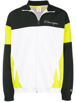 Champion colour-block track jacket - Yellow & Orange
