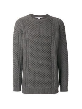 Stella McCartney cable-knit jumper - Brown